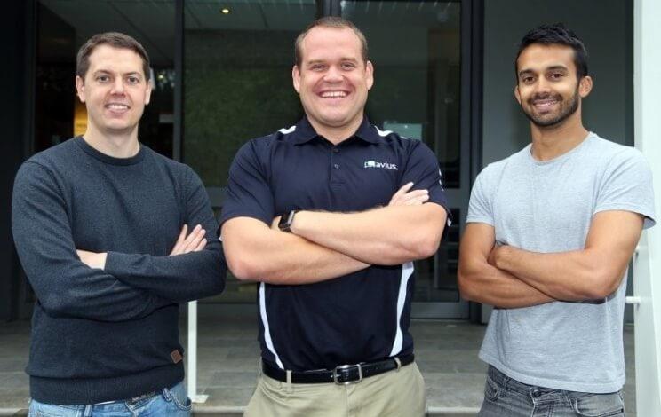 Ben, Luke and Will - Avius Founders